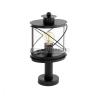 EGLO Hilburn - 94864 - kültéri álló lámpa, fekete, E27 foglalat, IP44, 410 mm magas