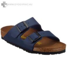 Birkenstock papucs lábujjvédő kék