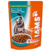 IAMS CAT ADULT SALMON IN JELLY- LAZACOS 100G