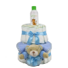 Pelenkatorta Webshop Babaváró ajándék ötlet: Pelenkatorta kisfiúnak BabyZoo babaolajjal