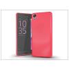 Sony Xperia X szilikon hátlap - Jelly Bright 0,3 mm - pink