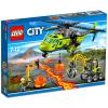 LEGO CITY: Vulkánkutató szállítóhelikopter 60123