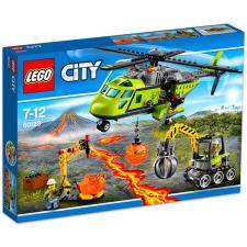 LEGO CITY: Vulkánkutató szállítóhelikopter 60123 lego