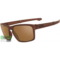 OAKLEY Sliver Matte Dark Amber Tungsten Iridium Polarized