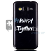 Samsung Galaxy Core Prime Tok Szilikon Black Series BS-05