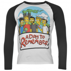 Official Póló Official A Day to Remember Raglan fér.