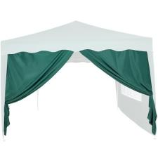 Oldalfal 3 x 3 m-es kerti sátorhoz - ablak nélkül, zöld kerti bútor