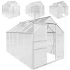 Üvegház PLANTASIA 190 x 190 x 195 cm, 3,6 m2