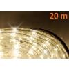 LED fénykábel 20 m - meleg fehér, 480 dióda