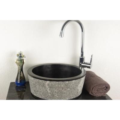 DIVERO Mosdókagyló természetes kőből - Palermo - Fürdőszoba kiegészítő: árak, összehasonlítás ...