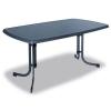 OEM Fém asztal PIZZARA 150 x 90 cm