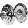 MOVIT® egykezes súlyzó - 20 kg, krómozott