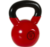 Kettlebell súlyzó 12 kg MOVIT - vinyl bevonattal kettlebell