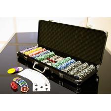OEM Póker készlet, 500 db-os zseton – OCEAN BLACK EDITION, értéke 5-1000 kártyajáték
