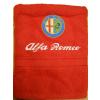 Hímzett Alfa Romeo törölköző