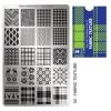 Körömnyomda lemez Fabric Texture-02