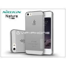 Nillkin Apple iPhone 5/5S/SE szilikon hátlap - Nillkin Nature - szürke tok és táska