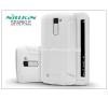 Nillkin LG K10 K420N oldalra nyíló flipes tok - Nillkin Sparkle - fehér tok és táska