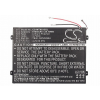 SNN5896A 6700 mAh tablet akkumulátor