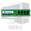 Integral 1GB DDR2-667 ECC DIMM  CL5 R1 UNBUFFERED  1.8V IN2T1GEWNEX