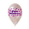 """Party lufi """"Just Married"""" felirattal 25 db"""