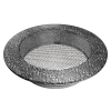 Szellőzőrács Fekete Ezüst 150