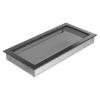 Kratki Fekete Ezüst Szellőzőrács Standard 22x45