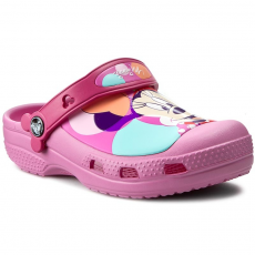 CROCS Papucs CROCS - Cc Minnie Colorblock Clog K 202693 Party Pink