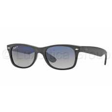 Ray-Ban RB2132 601S78 NEW WAYFARER MATTE BLACK POLAR BLUE GRAD. GREY napszemüveg