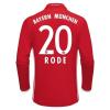 Adidas Bayern München Hazai H.ú. RODE Mez 2016-2017