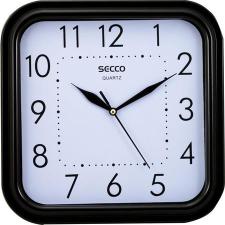 Secco Falióra, négyzet alakú, 25,5x25,5cm,  fekete keretes, SECCO