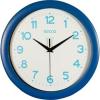 Secco Falióra, 30 cm,  kék keretes, kék számokkal, SECCO