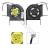 Samsung DFS531005MC0T F81G-2 gyári új  hűtés, ventilátor