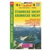 Štiavnické vrchy, Kremnické vrchy / Selmeci-hegység–Körmöci-hegység turista- és kerékpáros térkép/ Shocart