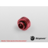 Bitspower Multi-Link Adapter G1/4 Deep Blood Red Enhance 14mm AD - vérvörös /BP-DBREML14/