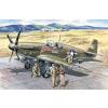 ICM Mustang P-51BA katonai repülőgép makett ICM 48125