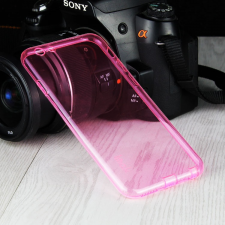 Apple iPhone 6 Plus/6S Plus szilikon hátlap - IMAK Stealth Slim - pink tok és táska