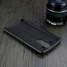 LG V10 H900 hátlap képernyővédő fóliával - IMAK Vega Leather - fekete tok és táska