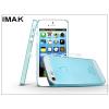 IMAK Apple iPhone 5/5S/SE hátlap - IMAK 0.7 mm Color Slim - kék