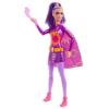 Barbie Tündérmese hősök lila