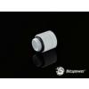 Bitspower G1/4 Deluxe White Anti-Twist Adapter fehér /BP-DWDR-C/