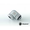 Bitspower Multi-Link Adapter Silver Shining Enhance 90° forgatható G1/4 12mm AD - ezüst /BP-E90RML/