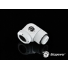 Bitspower Multi-Link Adapter Deluxe White Enhance 90° forgatható G1/4 12mm AD - fehér /BP-DWE90RML/