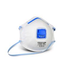 Porvédő maszk szelepes 10 db/csomag