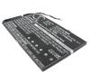 681879-121 Akkumulátor 3700 mAh hp notebook akkumulátor