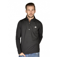Russel Athletic 1/4 ZIP L/S TOP Belebújós pulóver
