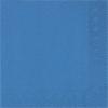 Szalvéta 33x33 cm, 20 db/csg, 3 rétegű sötétkék