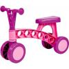 Lena - Színes 4kerekű futóbicikli (rózsaszín-lila)