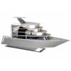 Lian Li PC-Y6W Odyssey Yacht Mini-ITX ház - ezüst