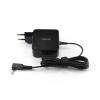 Asus Zenbook UX21 3.0*1.00mm 19V 2.37A 45W fekete notebook/laptop hálózati töltő/adapter gyári